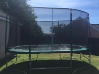 Skyhigh Trampoline with Enclosure oval 15ft x 10ft