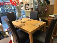 BHF Dining table and chairs
