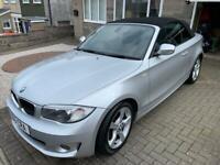 2012 BMW 118i 2ltr convertible