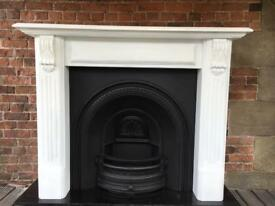 Delivery £25 uk cast iron fireplace and fire surround