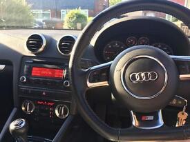 Audi A3 S line black edition 5dr 2010