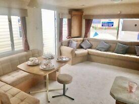12ft Wide sited static caravan. Amazing Value. nr Beach, Wells, Hunstanton.Onsite pool,entertainment