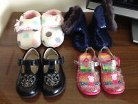 Toddler girl shoes slippers boots & jellies