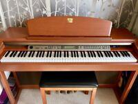 Yamaha Clavinova CLP-170 digital piano, perfect condition, full size 88 key keyboard with stool