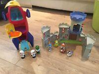 Kids Rocken and castle
