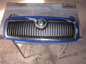skoda fabia front grille