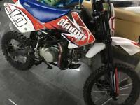 STOMP Z2 140cc big wheel, 10 year anniversary limited edition. 4 hours use. Pit Bike, off road
