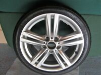 "BMW 116 M Sport 18"" rear alloy wheel"