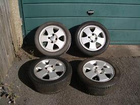"14"" alloy wheels off 02 Ford Fiesta 1.25"