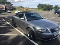 Audi A4 Cabriolet 1.8 T-Sport £2,950 OVNO MOT May '17