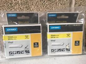 Dymo industrial rhino labels 19mm