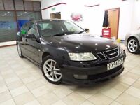 !!12 MONTHS MOT!! 2004 SAAB 9-3 AERO TURBO / BLACK / 5 DOOR / MANUAL / SERVICED / BARGAIN