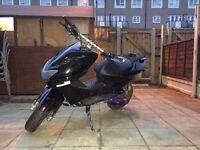 Yamaha black aerox 70cc