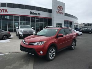 2014 Toyota RAV4 Limited/LEATHER SEAT