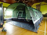 higear corado 8 family tent with khyam kitchen pod