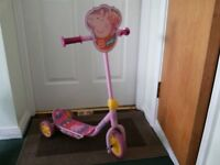 Tri Scooter for Girls - Princess Pink