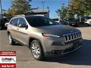 2017 Jeep Cherokee LIMITED**FORMER COMPANY VEHICLE**NAVIGATION**