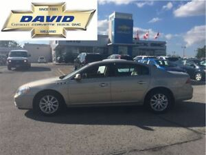 2009 Buick Lucerne CXL, HEATED LEATHER, LOW KM, LOCAL TRADE!!!