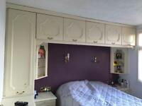 Bedroom Built In Over Head Wardrobes
