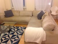 MUST SELL THIS WEEK Super Comfy 6+ Seat Sofa (also works as a SofaBed for 2 People!)