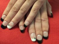 Offering Gel nails/manicure, pedicure
