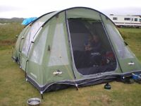 Vango Icarus 5 Berth Family Tent, with inner insect repellent inner mesh, and in superb condition