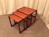 G Plan Teak Nest Of Tables - Occasional Tables - Coffee Table - Retro / Vintage