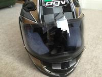 AGV Demon full face motorcycle helmet. Size XS. Brand New in Box.