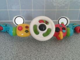 ELC steering wheel toy