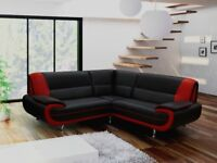 SOFA SALE**BRAND NEW CORNER SOFAS, 3+2 SETS, ARM CHAIRS AND FOOT STOOLS IN ALL COLOURS
