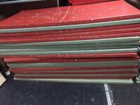 20 judo gym MMA crash karate mats 2mx1x50mm