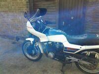 Honda CBX550 F2 great bike long MOT