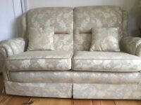 Vale two seater sofa and two matching chairs. Very good condition