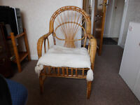 WICKER CHAIR ONLY £8.00