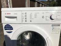 White Bosch washer (delivery and installation available)
