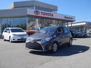 2015 Toyota Yaris Toyota Certified