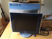 SONY 17 inch TFT LCD Monitor