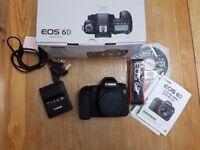 Canon 6d DSLR - Full Frame - Body Only