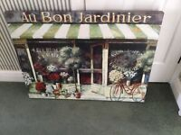 John Lewis pretty Canvas Art - Au Bon Jardinier