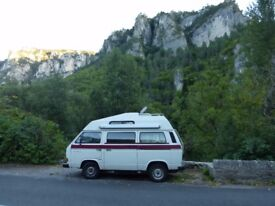 VW T25 Campervan for sale. Ideal for project.