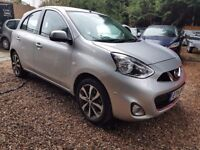 Nissan Micra 1.2 DIG-S Tekna 5dr£5,495 p/x welcome FREE 1 YEAR WARRANTY, NEW MOT