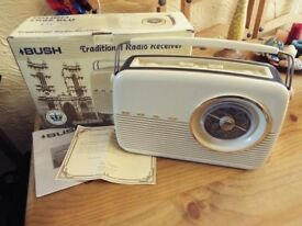 Bush TR82 Traditional radio receiver Golden jubilee edition
