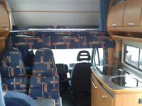 LHD Motorhome in great condition 6 berths.