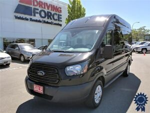 """2017 Ford Transit T-350 148"""" WB High Roof Cargo Van, 3.7L Gas"""