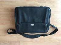 Laptop bag leather 15.6""