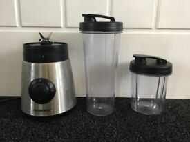 Silvercrest smoothie maker with 2 x tumblers, in original box