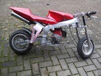 midi moto ,its fully automatic