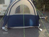 caravan sunncamp scenic plus porch awning navy/gray 23o x230 x230 x 200 inside head height