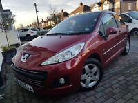 Peugeot 207 hatchback,very good condition ,low milleage .