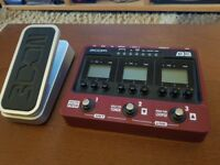 Zoom B3 and Expression Pedal for sale.